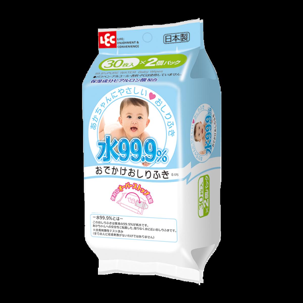 幼兒即棄濕抹巾 (日式輕便裝) 30片 x 2包