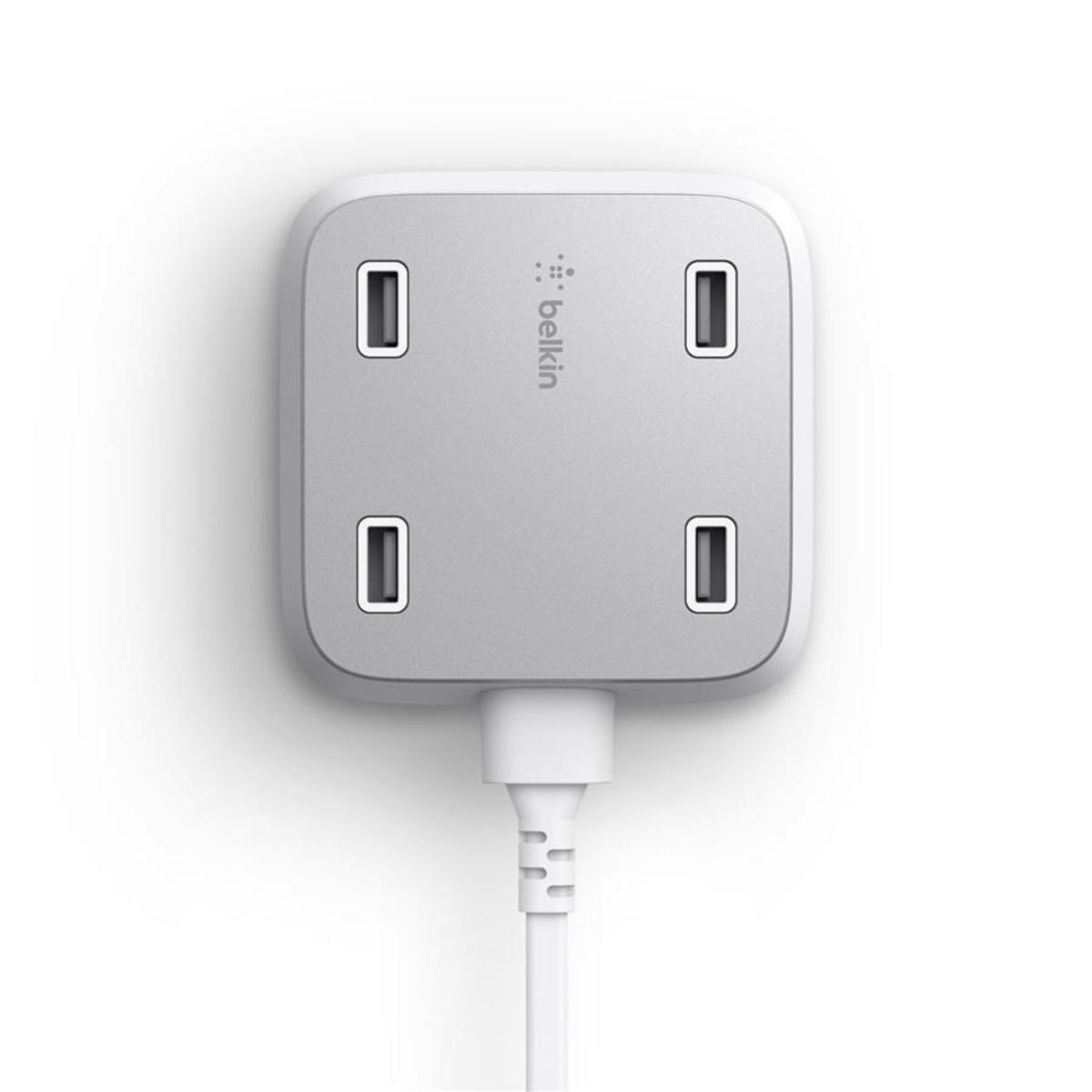 家用4-USB-Port 高速充電器