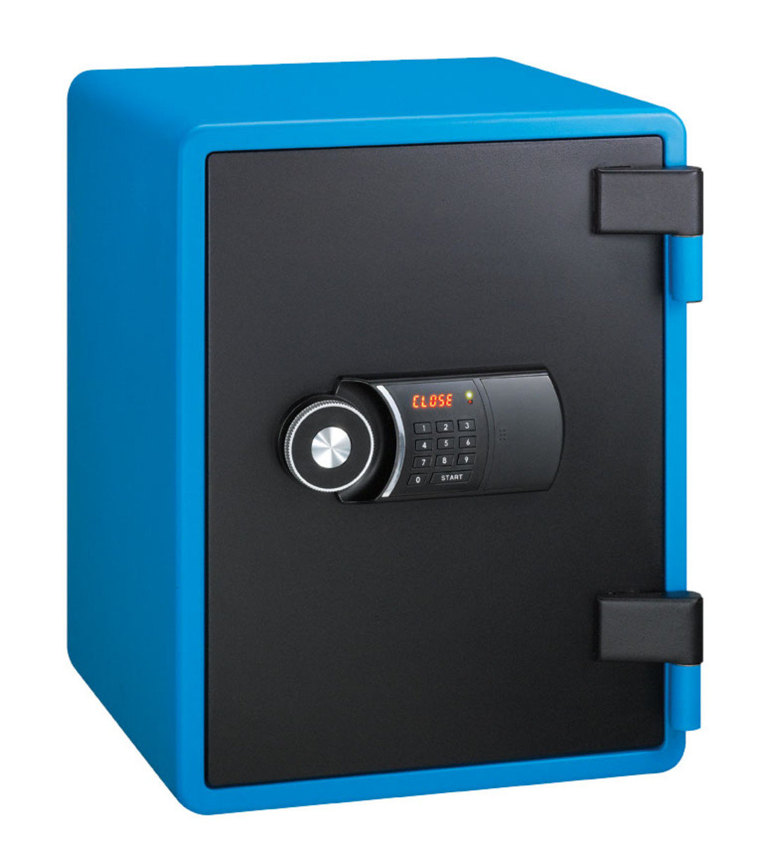 YESM-031D/DK/K2 電子密碼鎖/電子密碼鎖+鎖匙 /雙匙 (藍色)