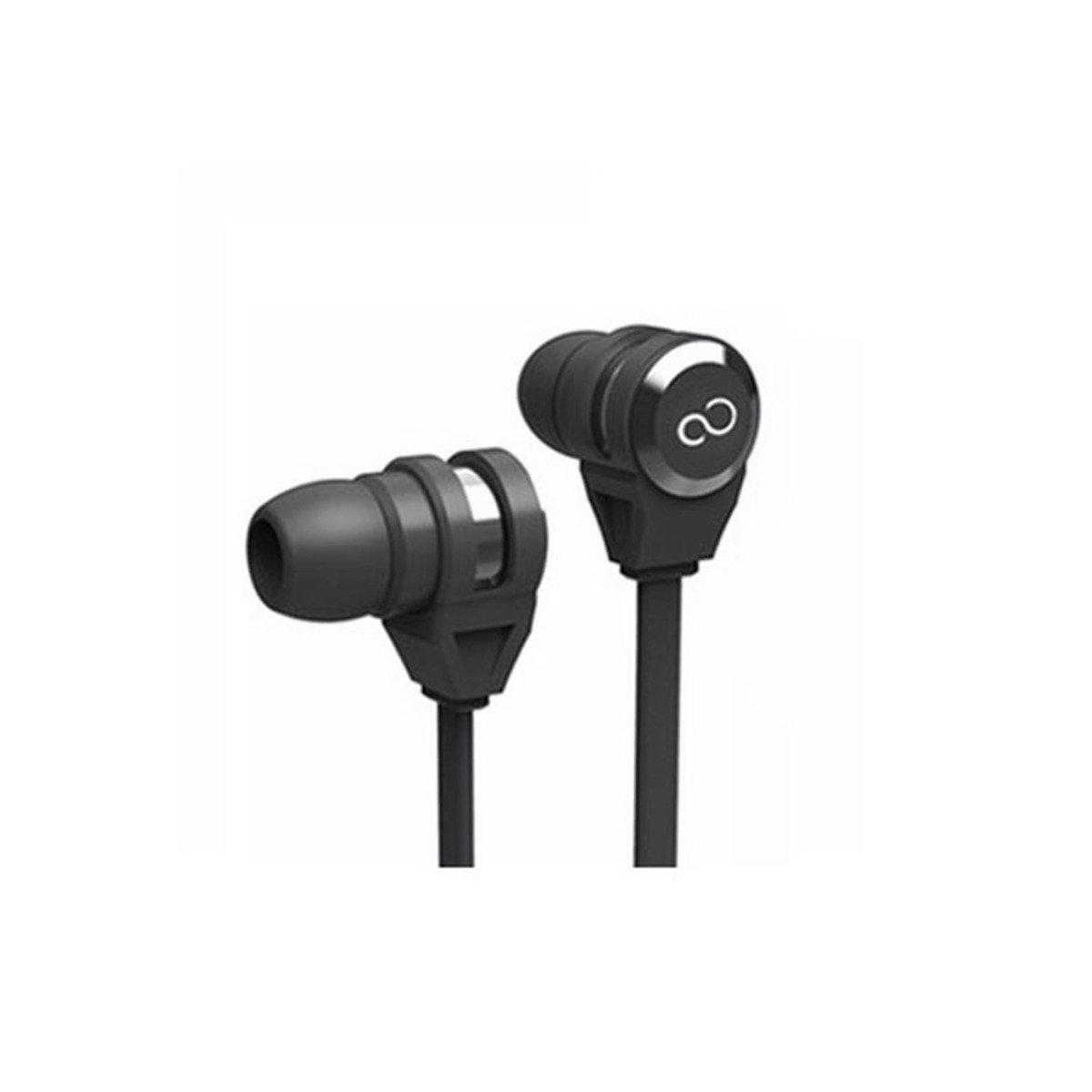 E11B/W IN-EAR EARPHONE w/Mic IOS/Android