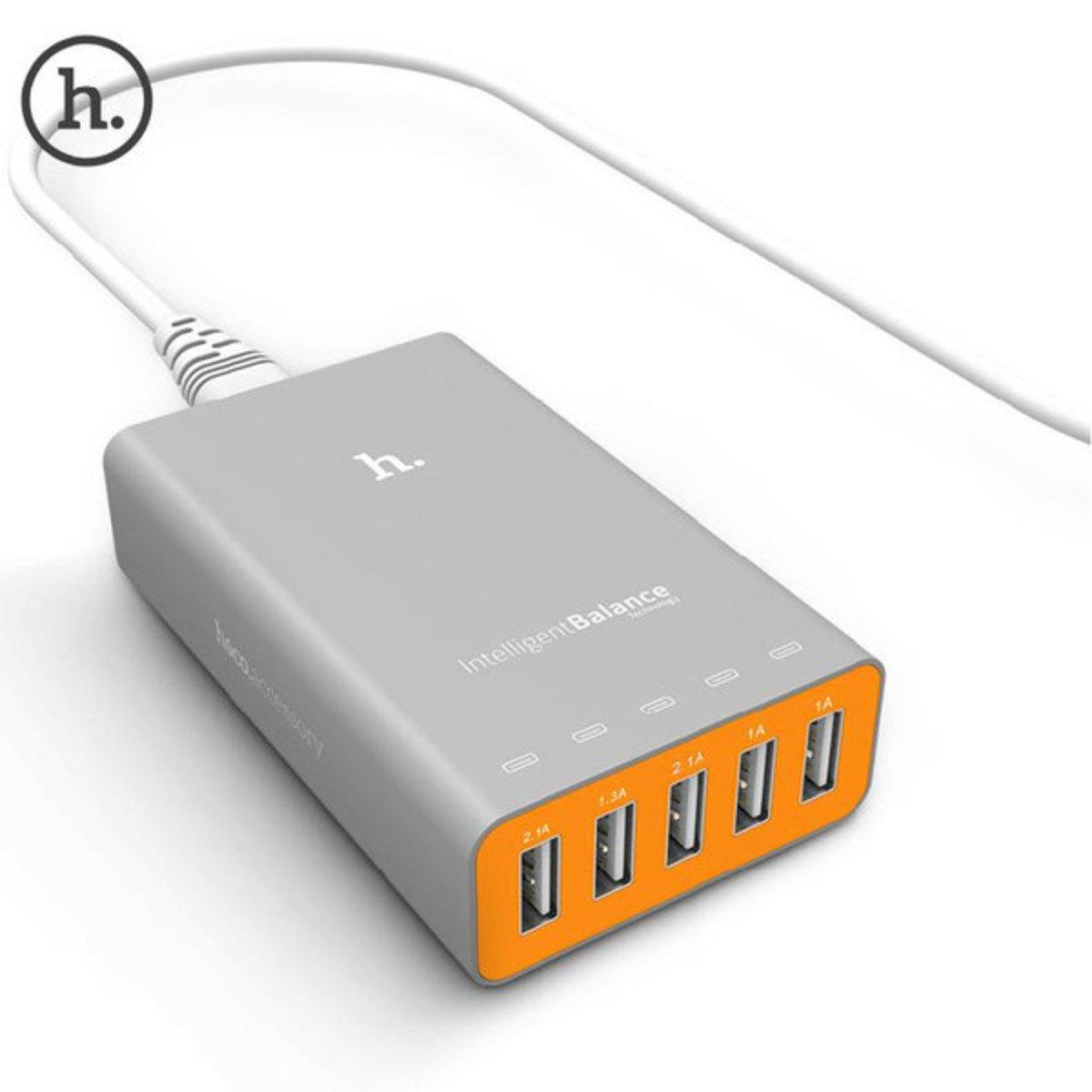 UH502 5位 USB 智能快速充電器