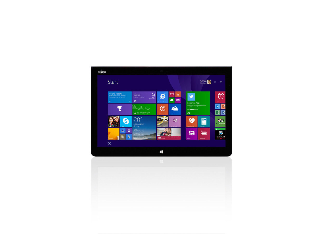 STYLISTIC Q704 日本制造 12.5 Inch Win8.1 Pro Tablet (Not Include Keyboard)