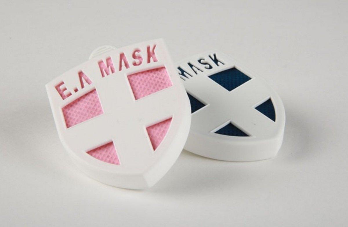 人気商品!! 日本健康勳章 E.A MASK(ES-020) 個人用 藍色 到期日 2016年10月