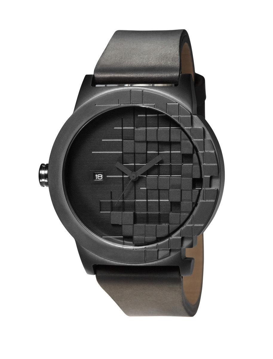 Pixels 石英皮帶手錶