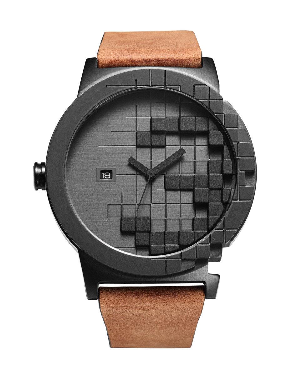 Pixels石英皮帶手錶