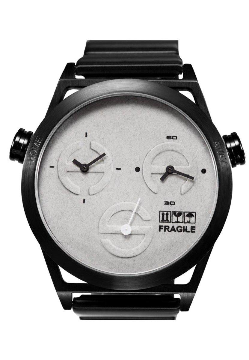 World Craft-M 石英鋼帶手錶