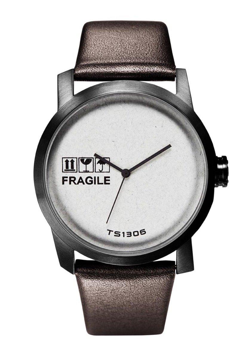 Kraft石英皮帶手錶