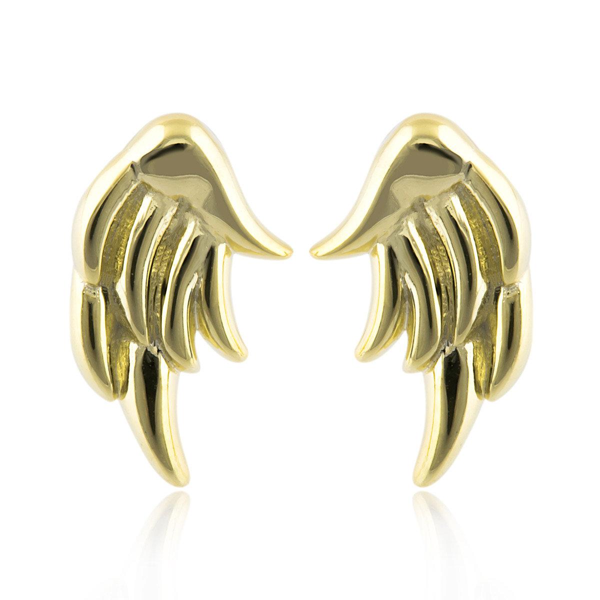 邱比特天使雙翼耳環