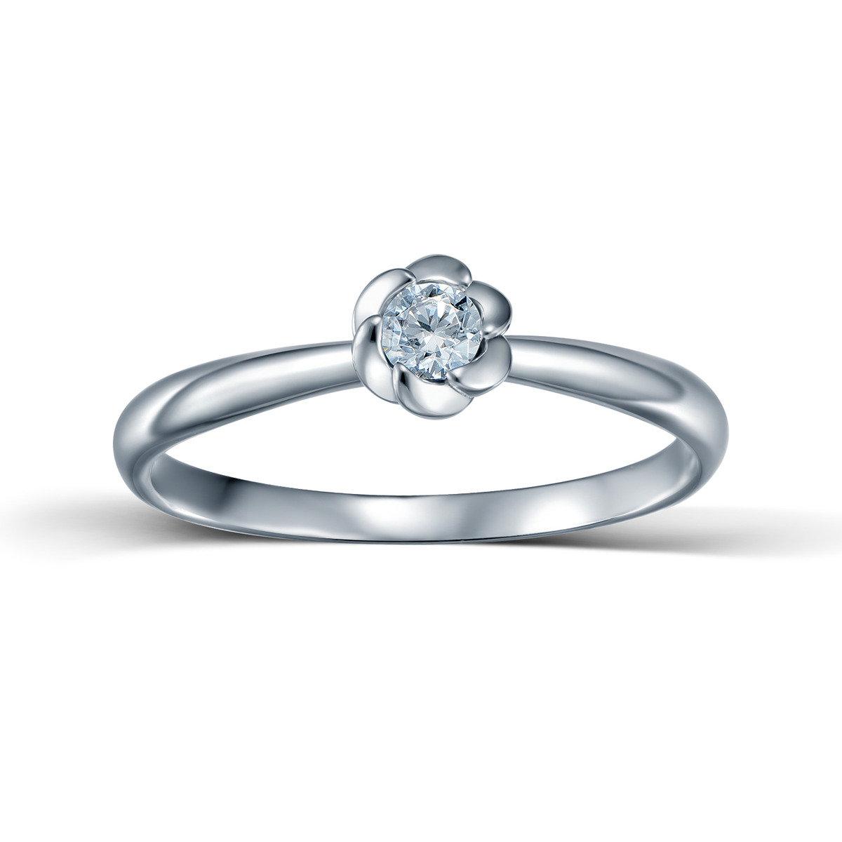 花之戀花形戒指