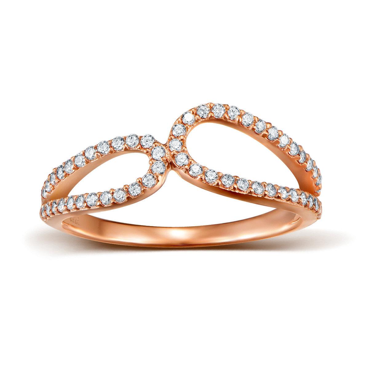 維納斯雙環戒指