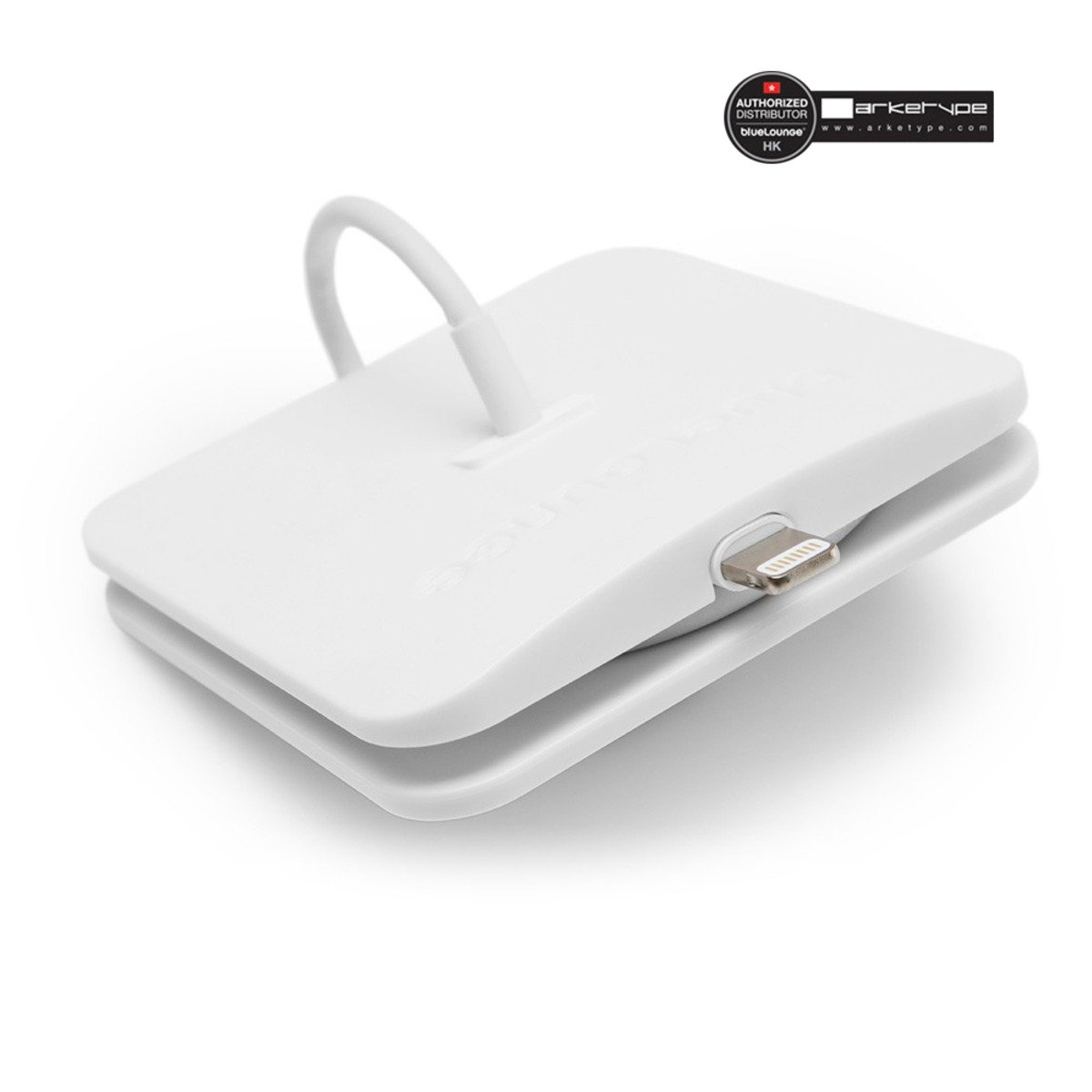iPhone lightning 線收納 - 白色
