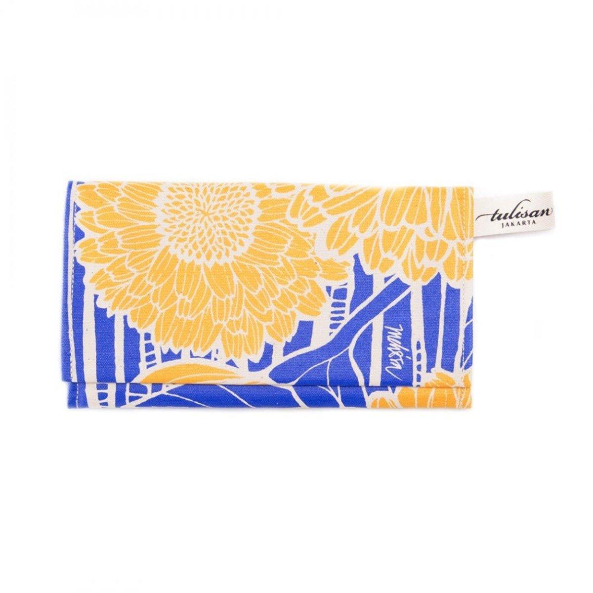 Olio Clutch 錢包 - Yellow Sunflower