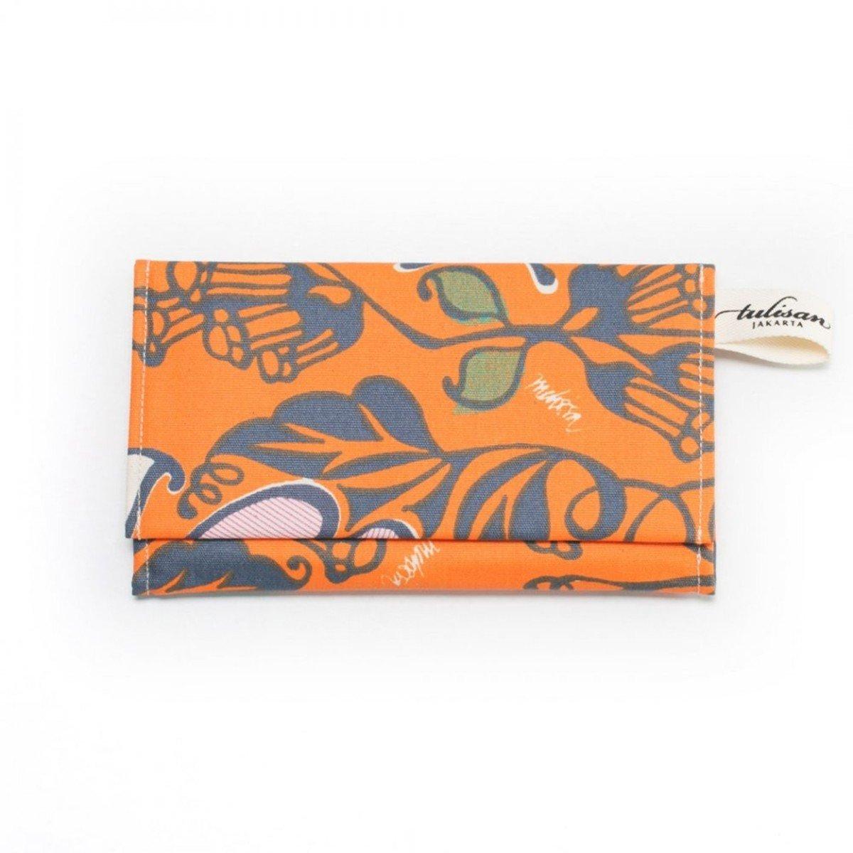Olio Clutch 錢包 - Orange Tangerine