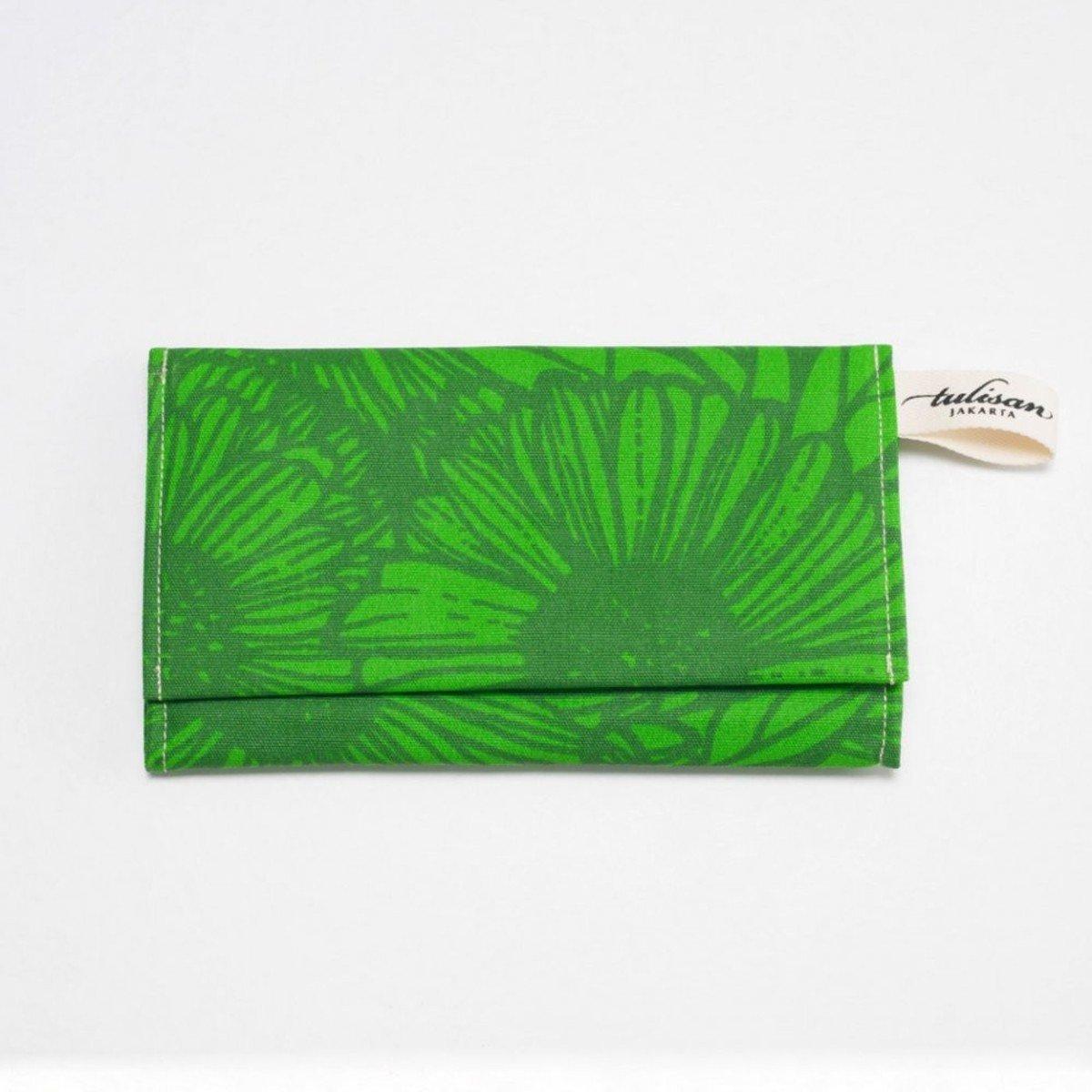 Olio Clutch 錢包 - Green Grass