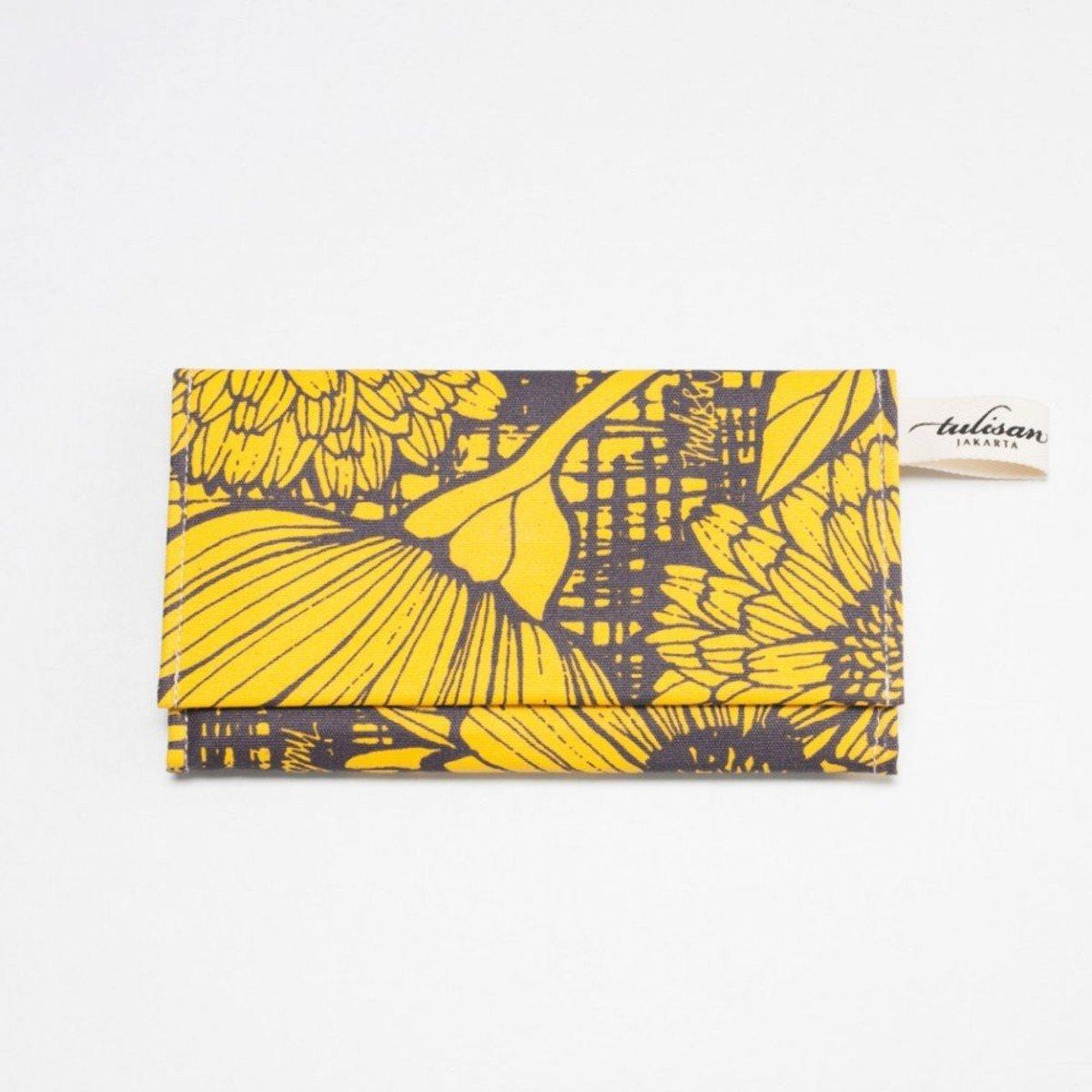 Olio Clutch 錢包 - Yellow Canary