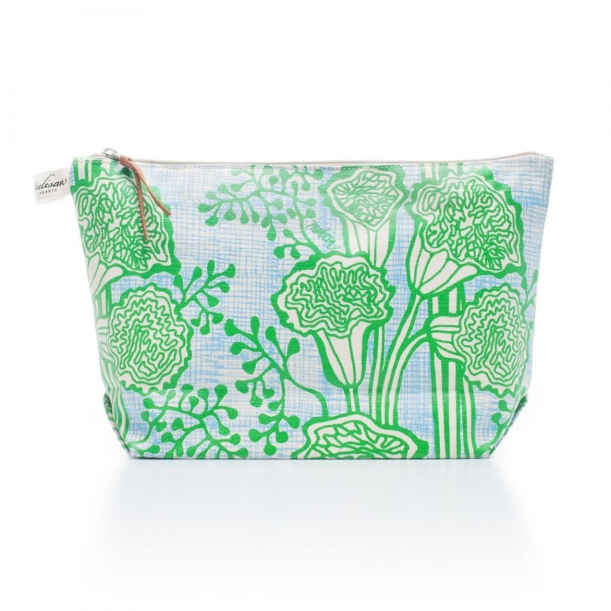 化妝袋 (大) - Green Grass