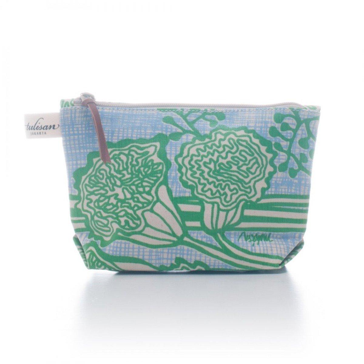 化妝袋 (小) - Green Grass