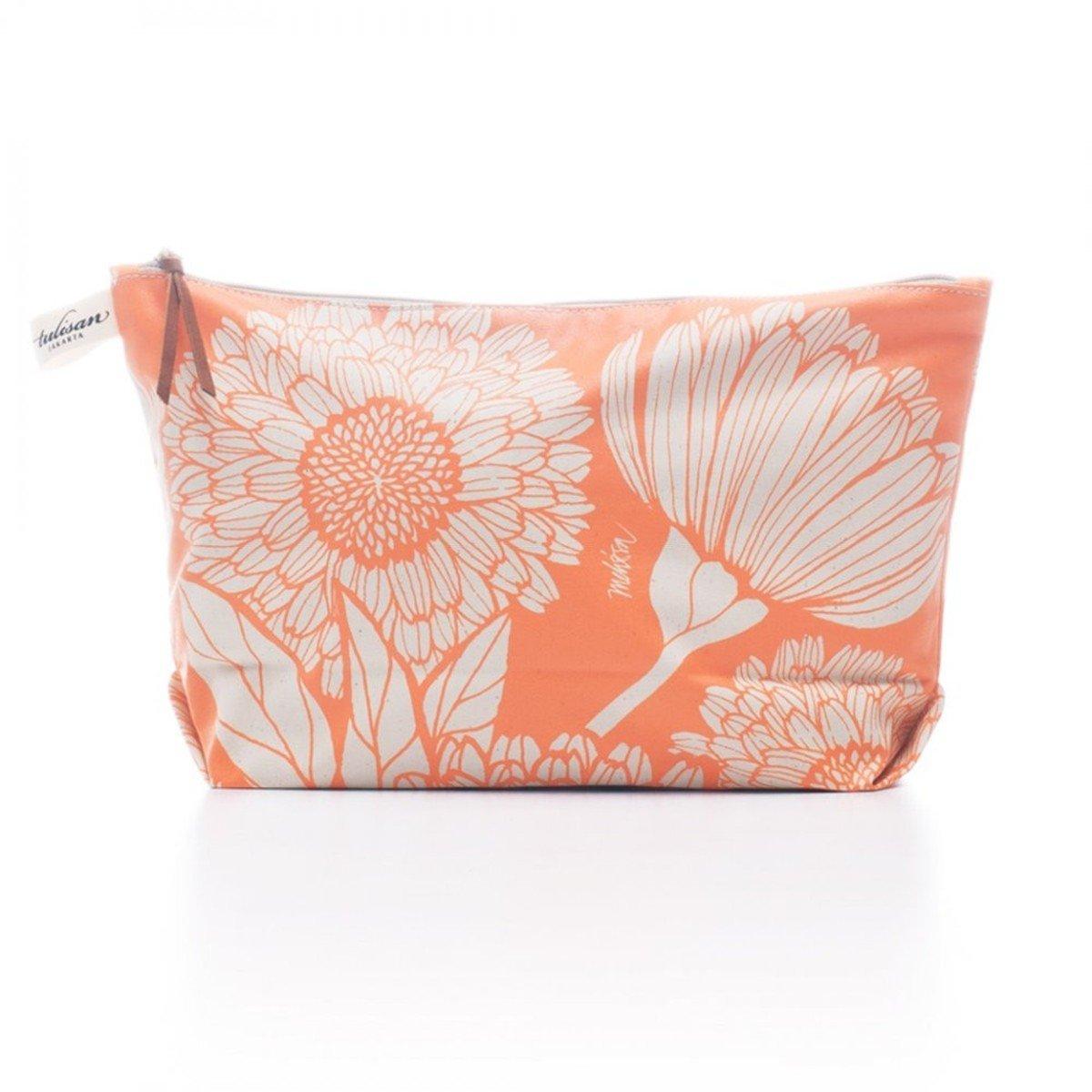 化妝袋 (大) - Orange Oriental