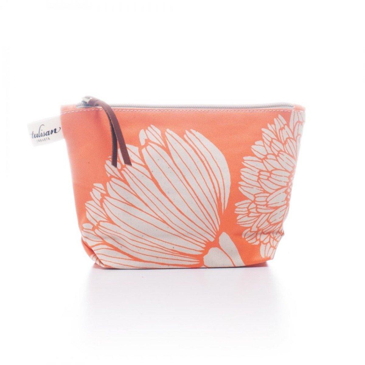 化妝袋 (小) - Orange Oriental