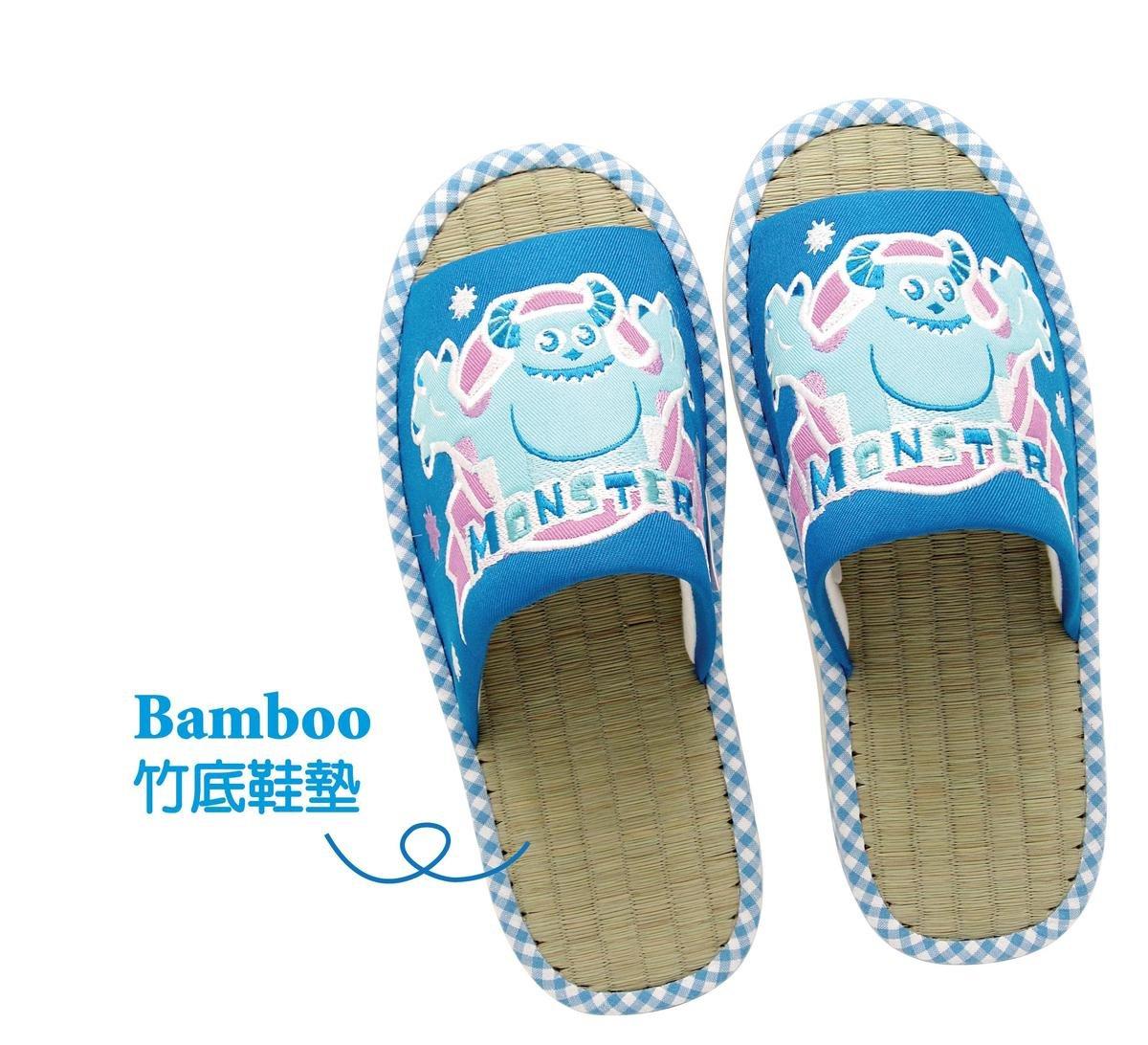 竹墊拖鞋 (毛毛)