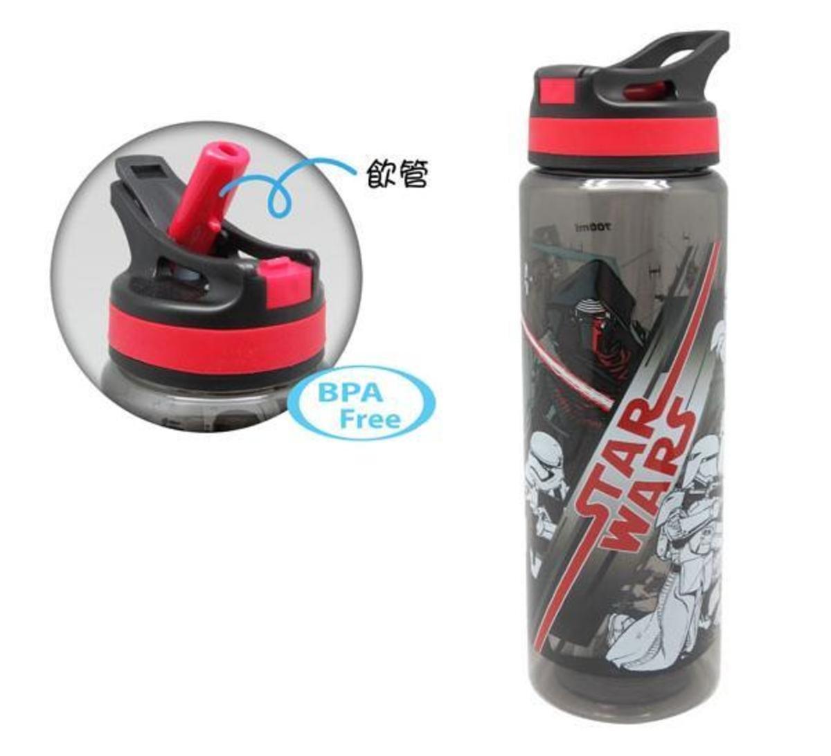 運動型吸管水樽 (Red)