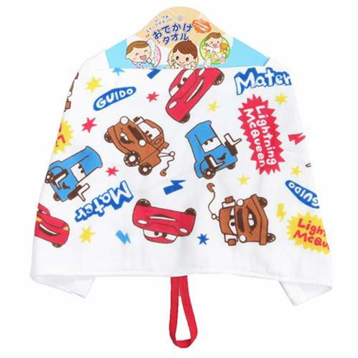反斗車王純棉多用途嬰兒毛巾餐巾