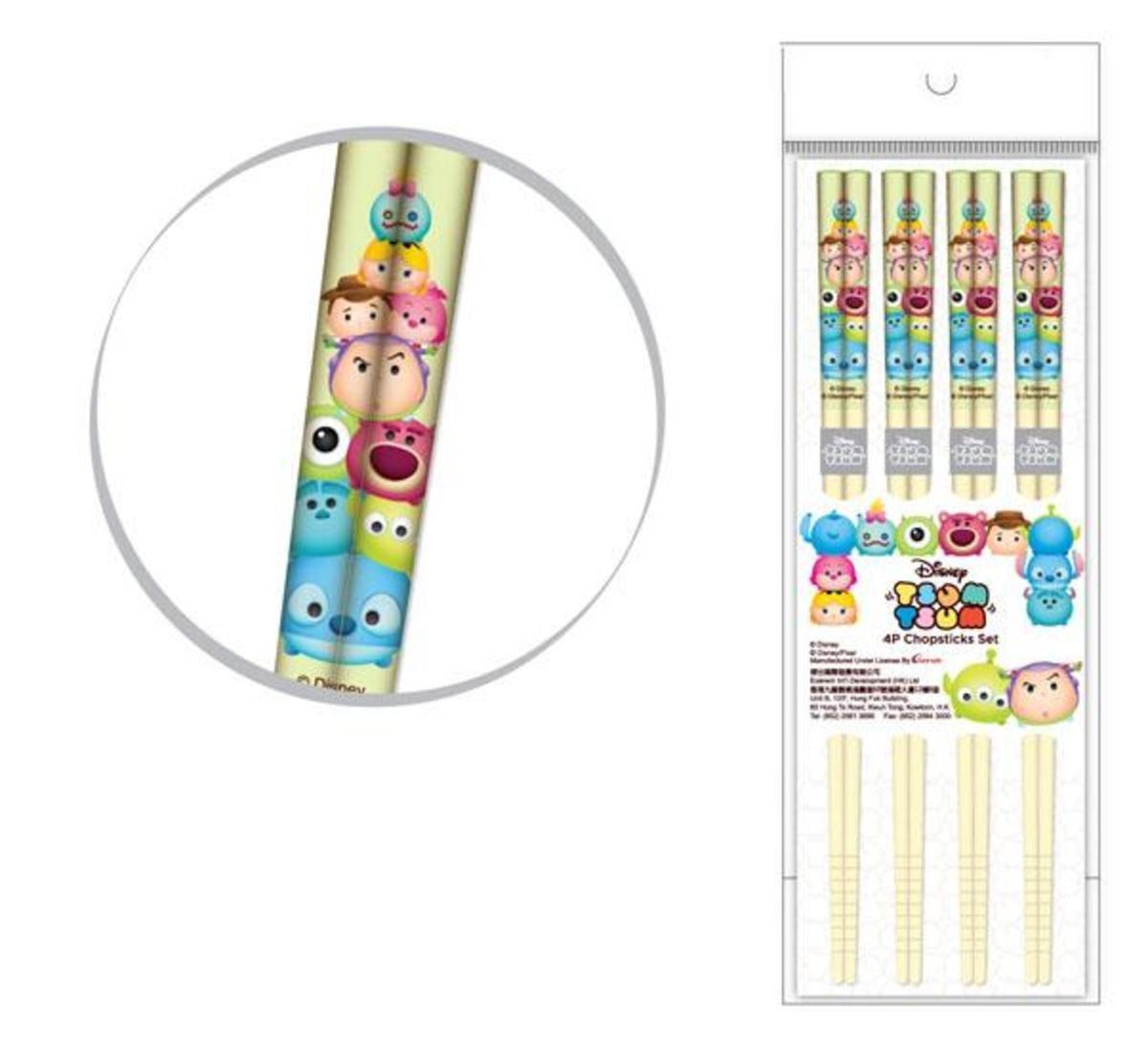竹製筷子套裝 Set D
