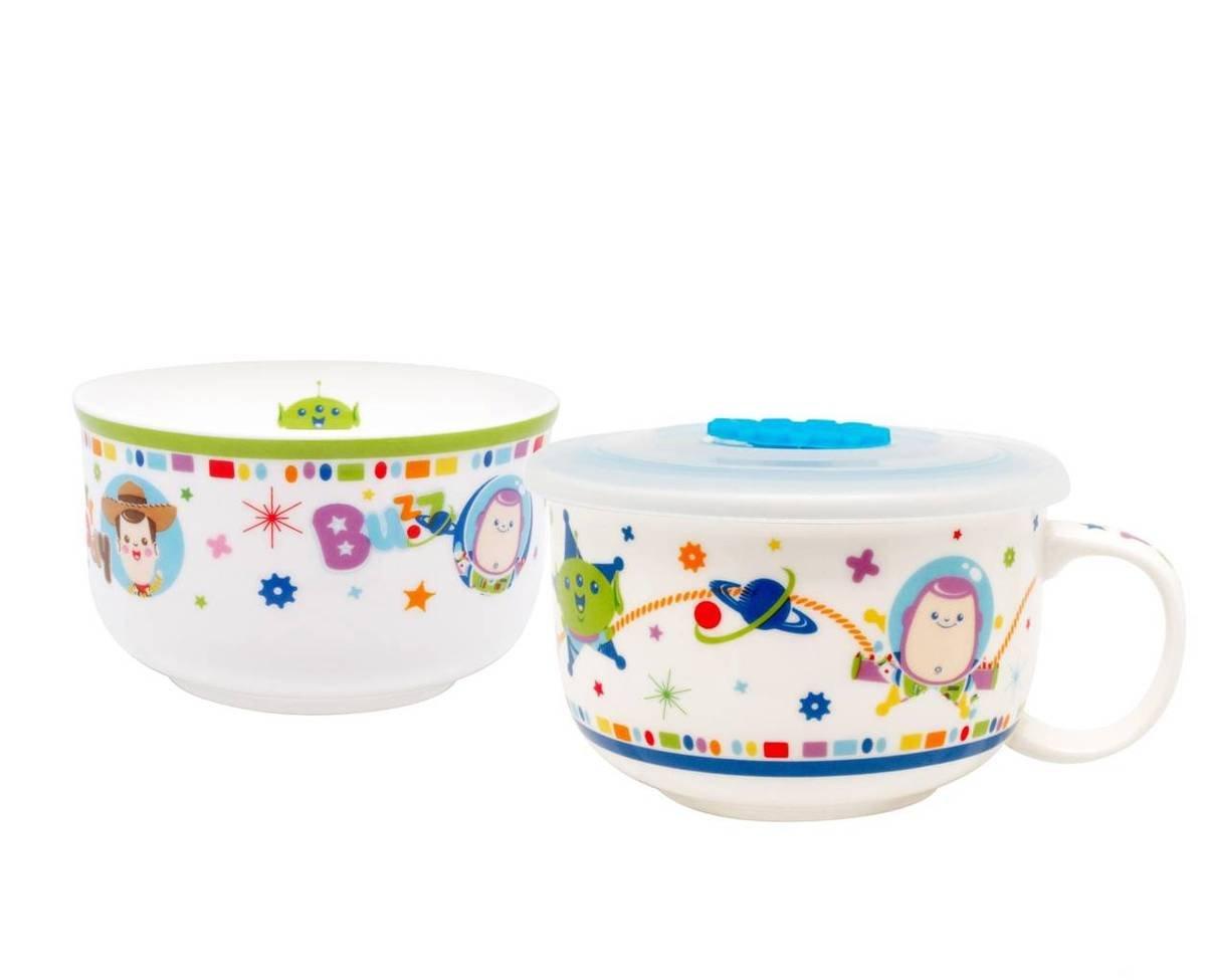 反斗奇兵 陶瓷碗+湯碗連蓋套裝