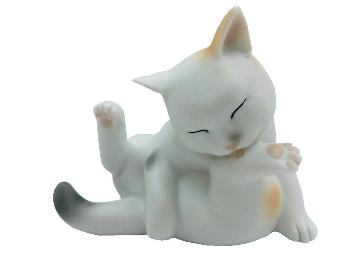 來福 貓咪 (白啡灰色)