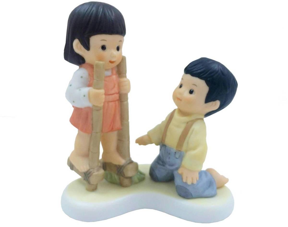 童年遊戲 - 竹馬