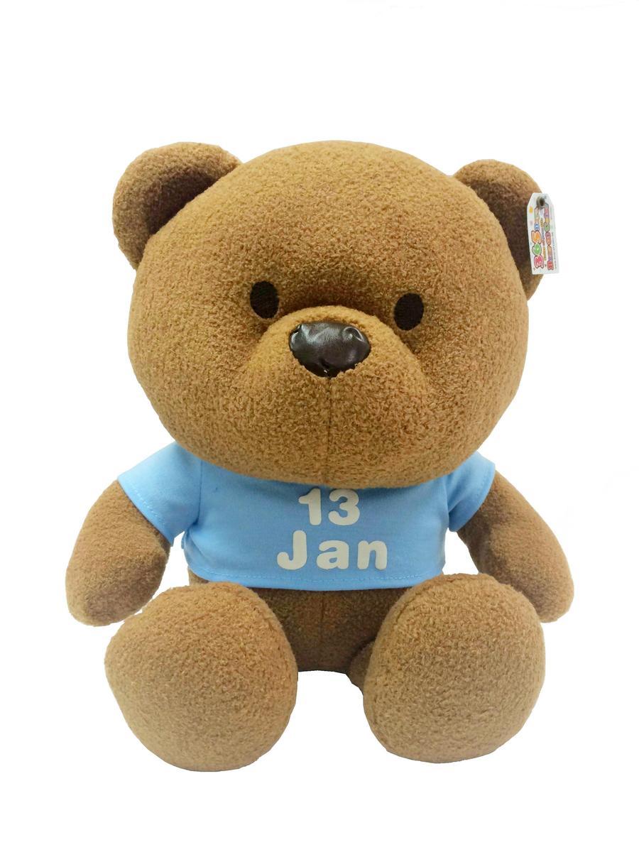 1月份熊仔