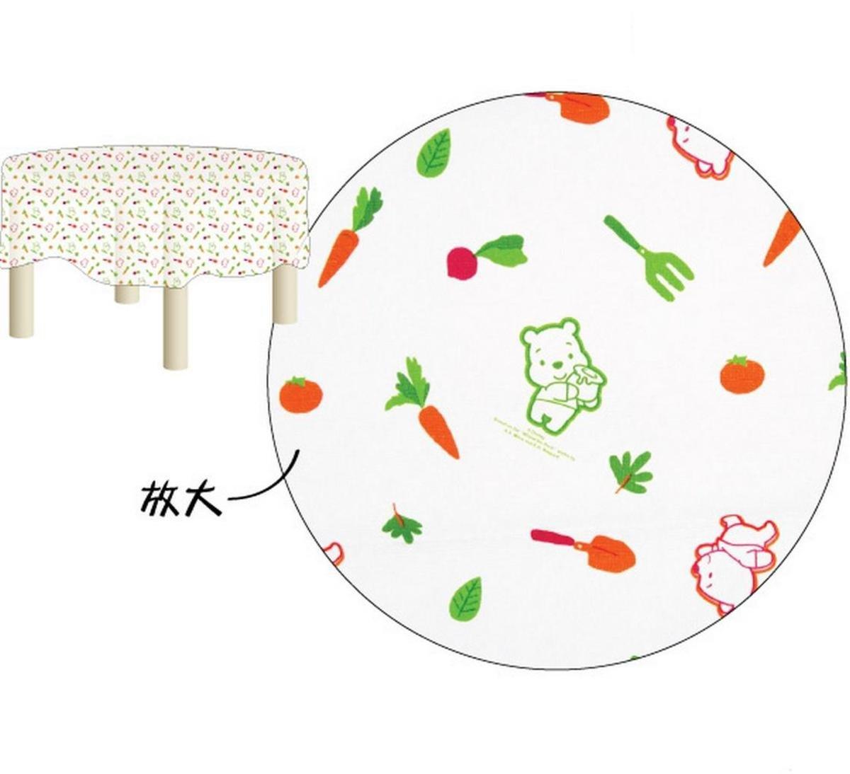 小熊維尼圓形桌布