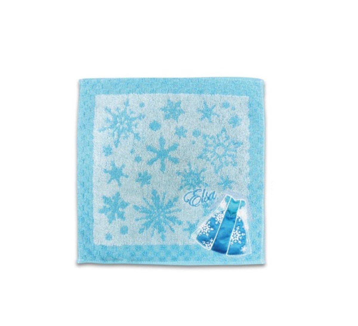迪士尼公主全綿小毛巾A(Elsa)