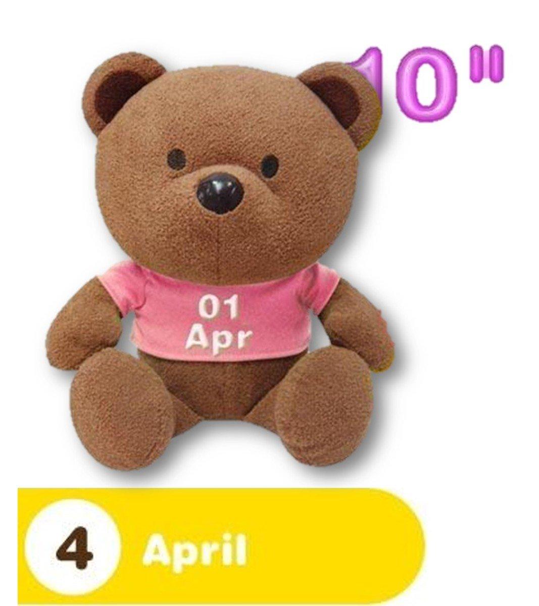 4月份熊仔