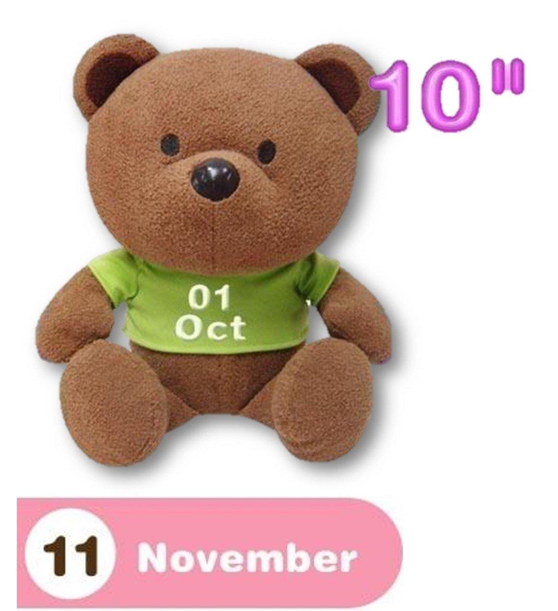 11月份熊仔