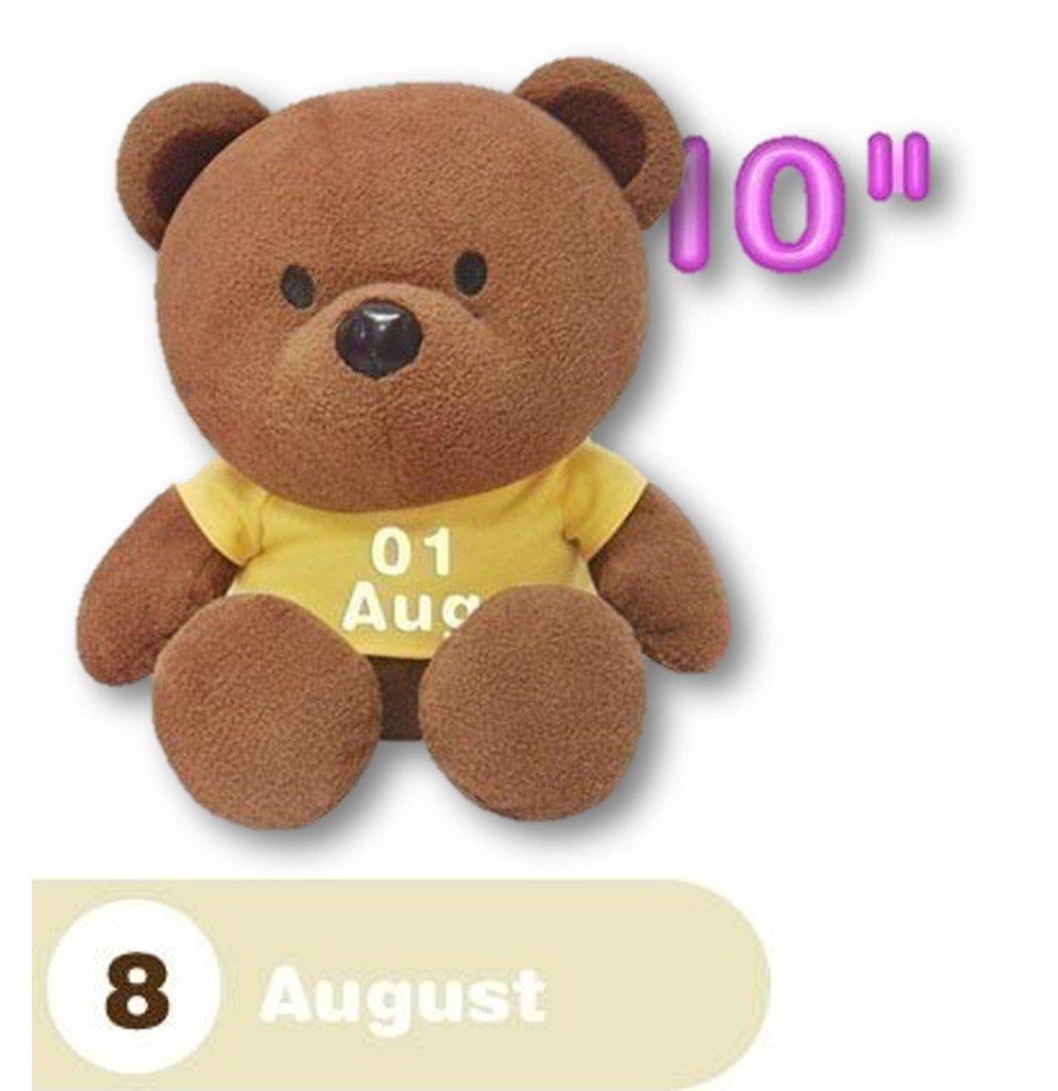 8月份熊仔