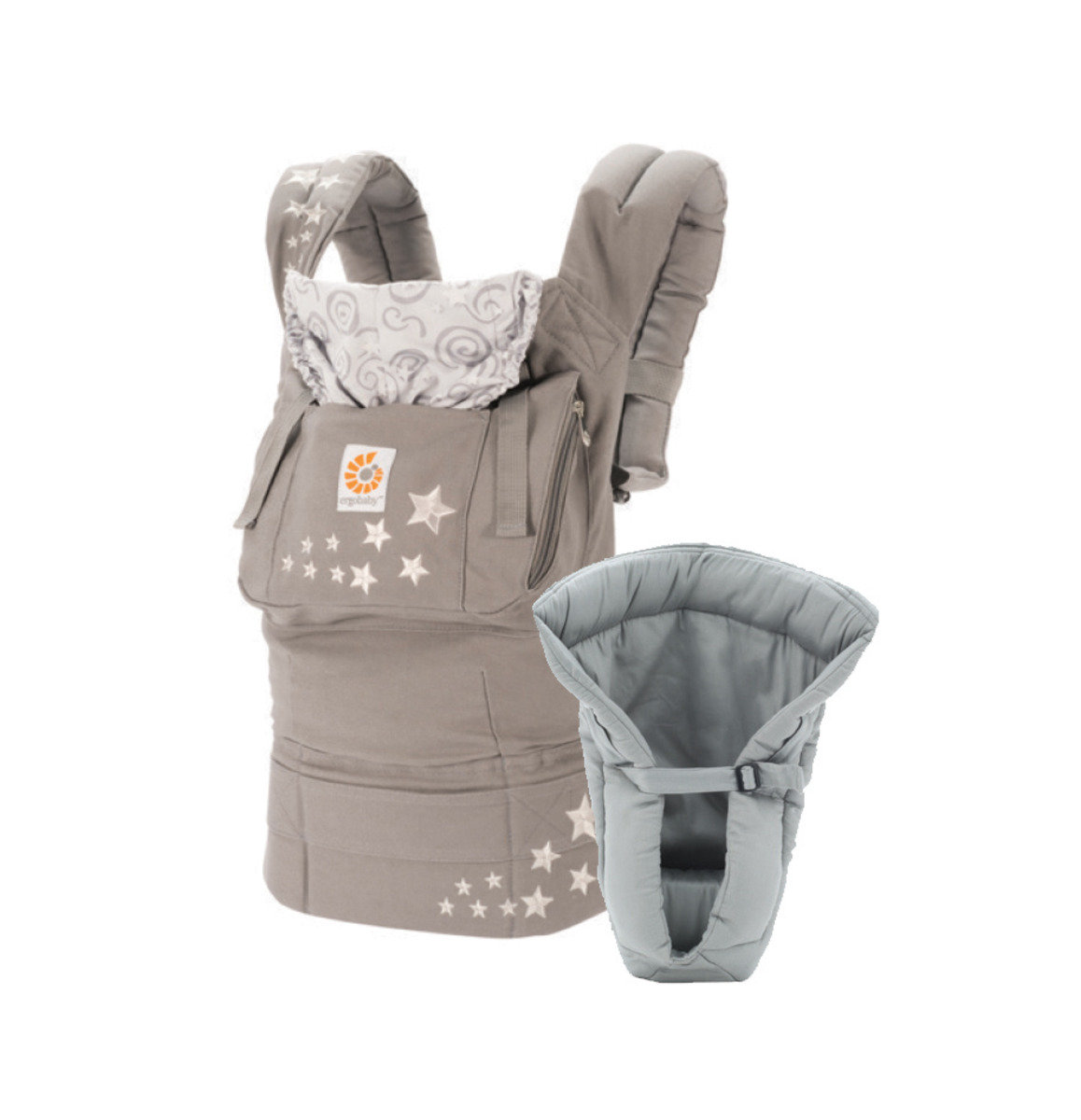 基本款嬰兒揹帶加保護墊套裝 - (2015年包裝)