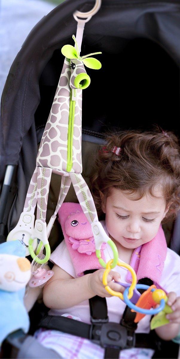 長頸鹿嬰兒車玩具吊環