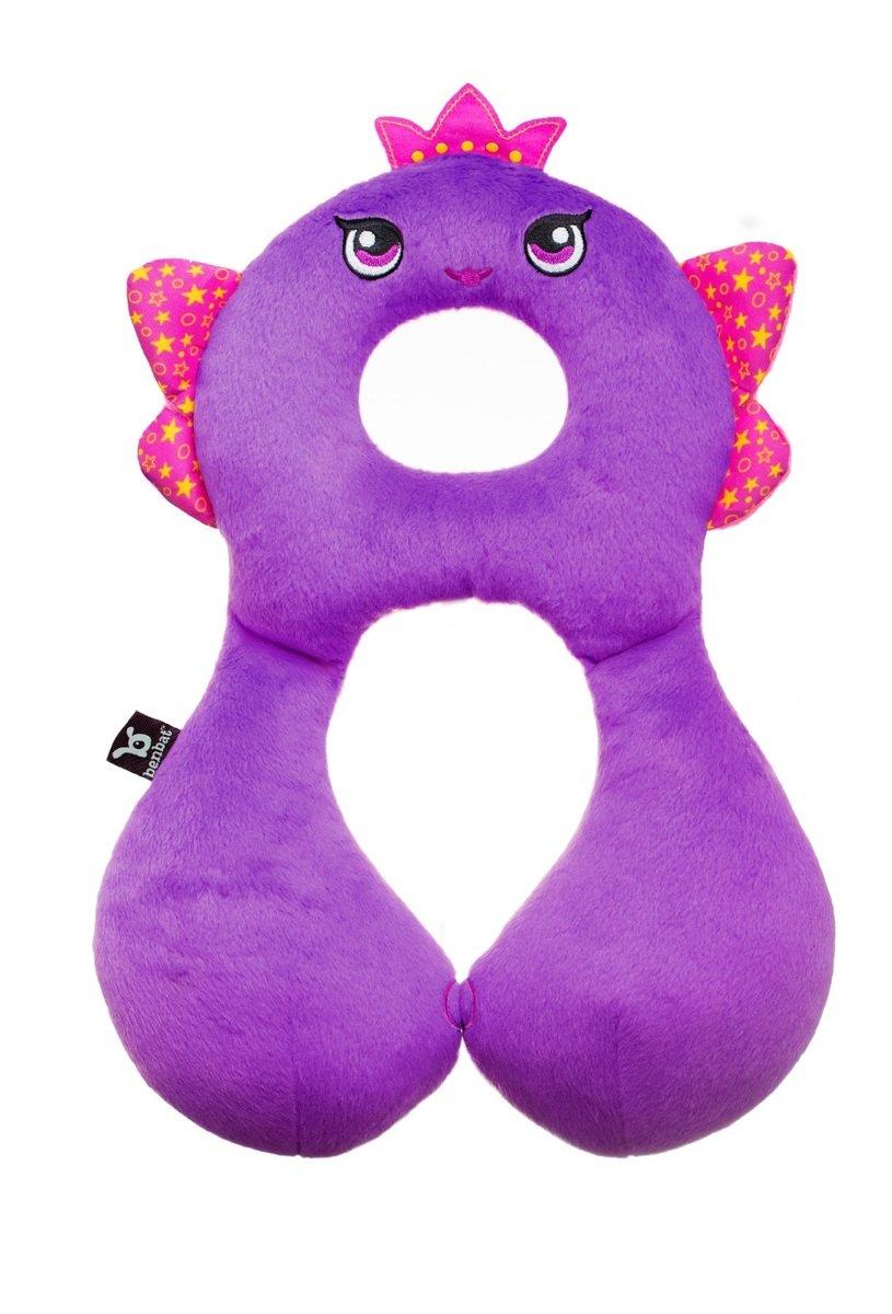 旅遊朋友頸枕 - 小仙女 - (4-8歲) ﹣紫色