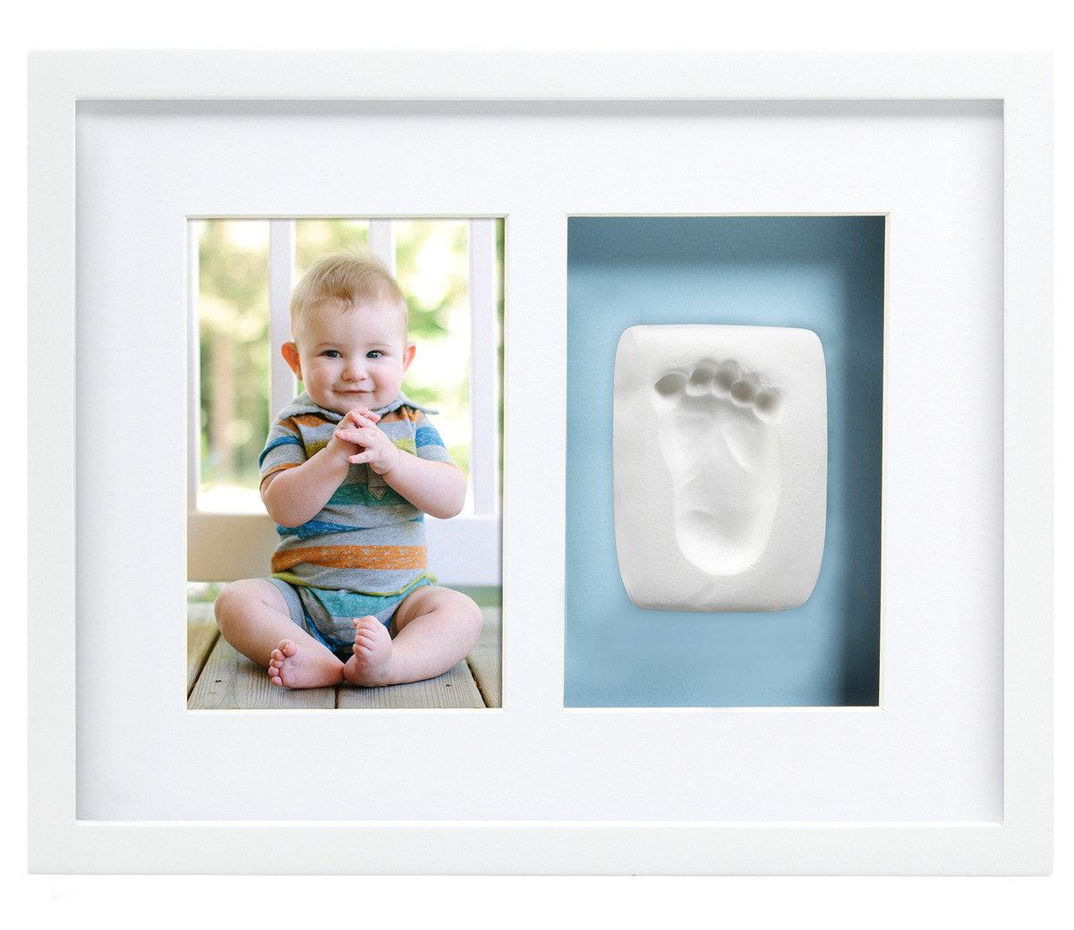 寶寶掌印掛牆相框 – 白色