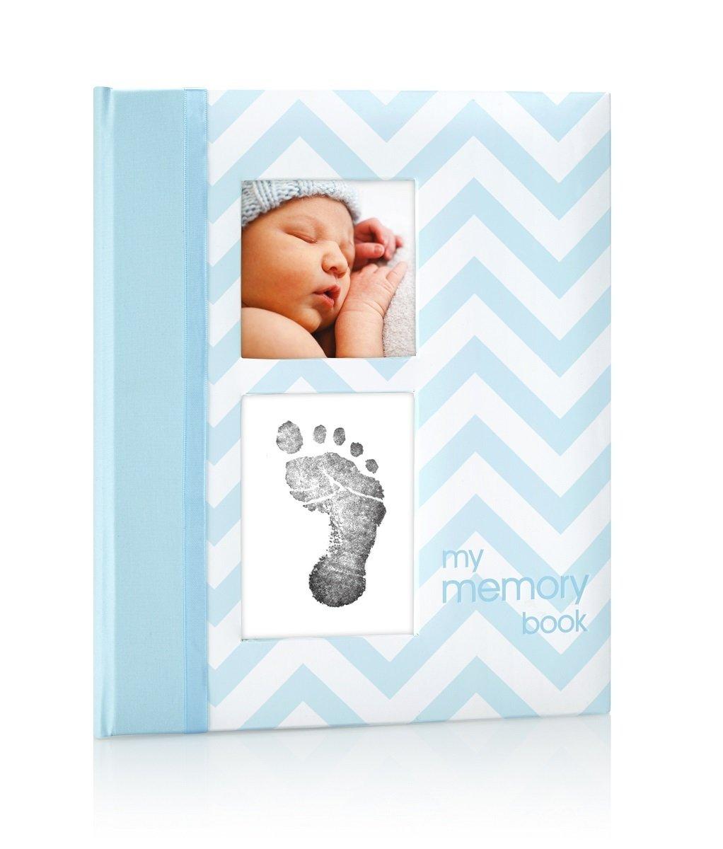 寶寶掌印回憶錄 - 藍色