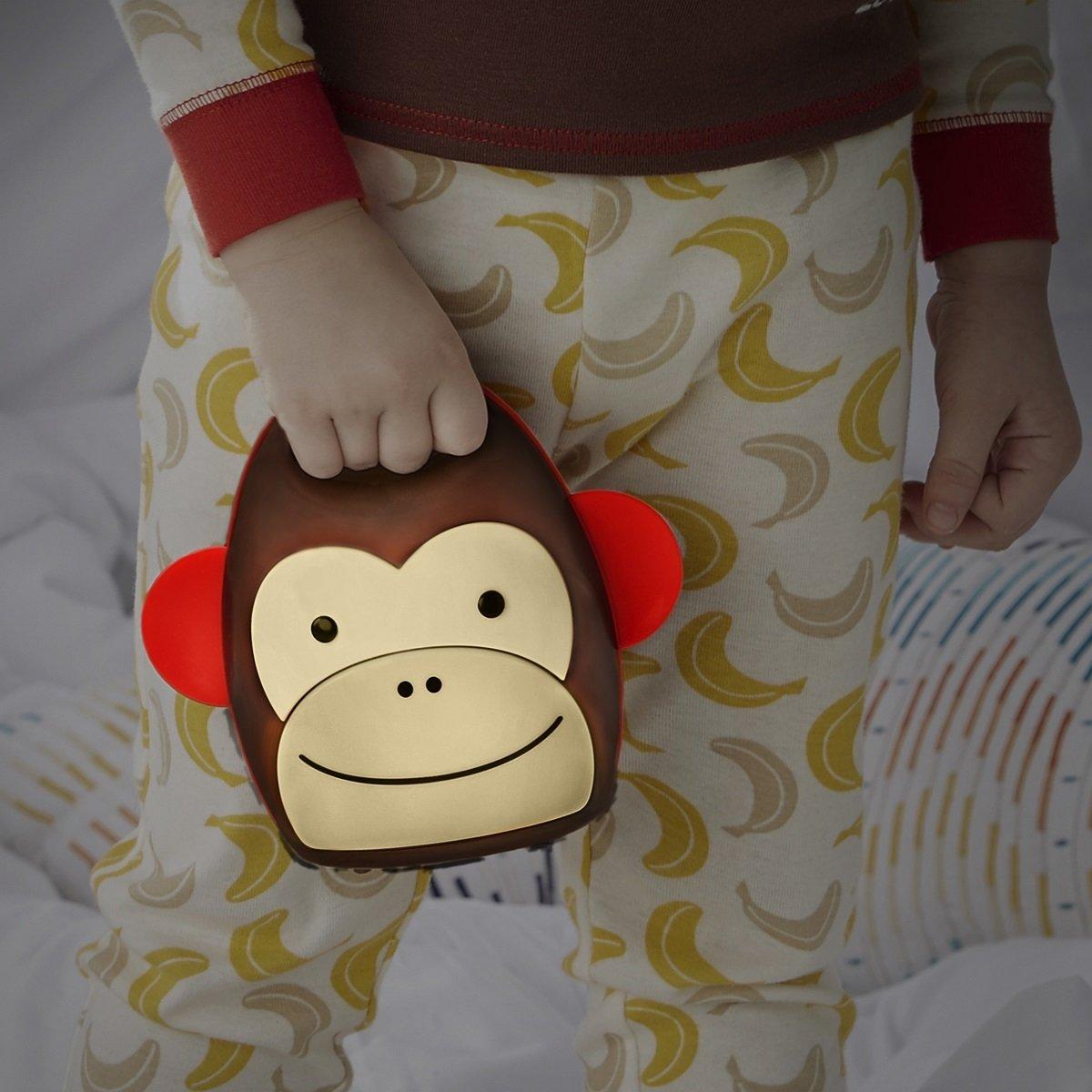 可愛動物園便攜式夜燈 - 猴子