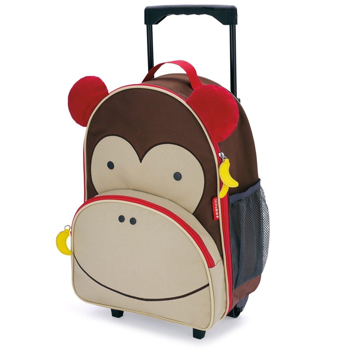 Zoo 可愛動物園小孩專用行李箱 - 猴子