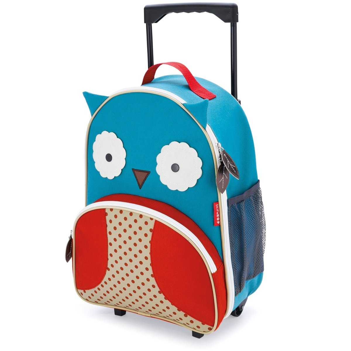 Zoo 可愛動物園小孩專用行李箱 - 貓頭鷹