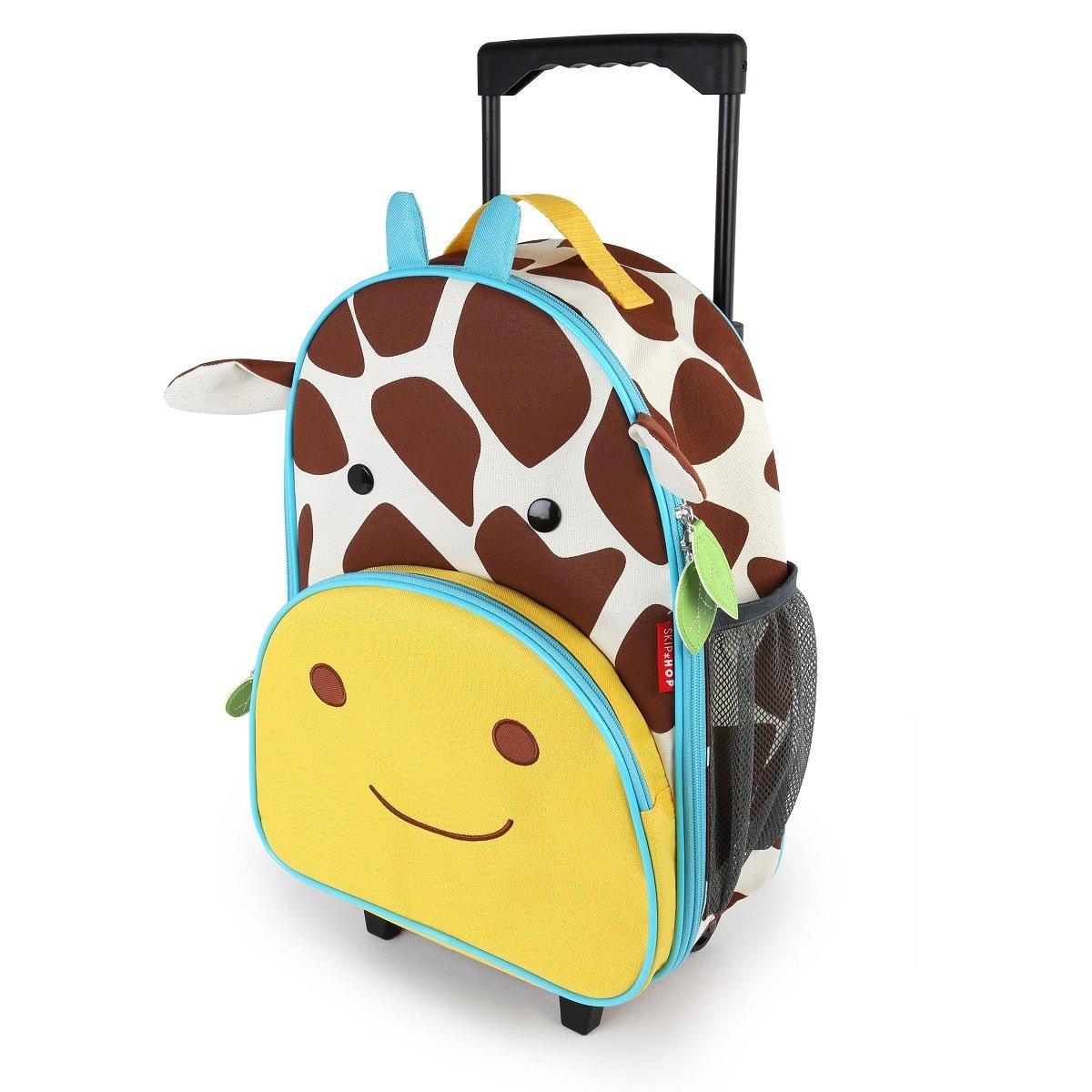 Zoo 可愛動物園小孩專用行李箱 - 長頸鹿