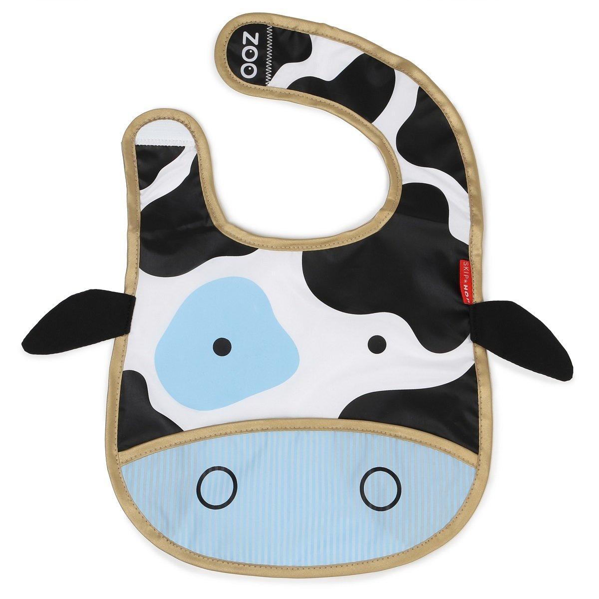 Zoo 可愛動物樂園圍兜(口水肩) - 牛牛