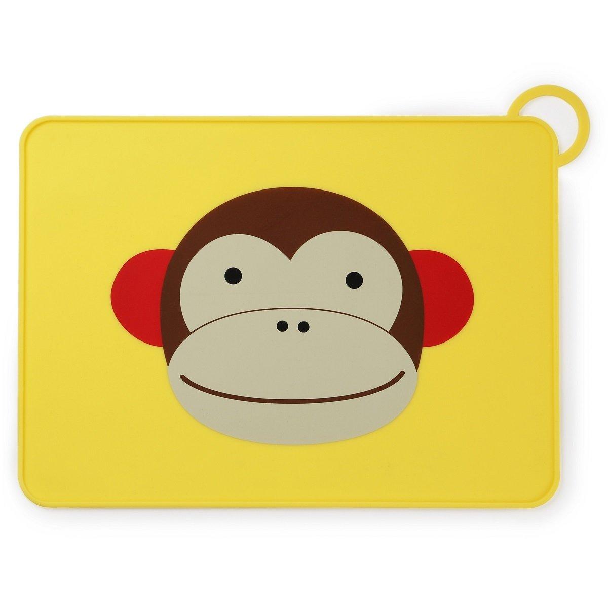 可愛動物園矽膠餐墊 - 猴子