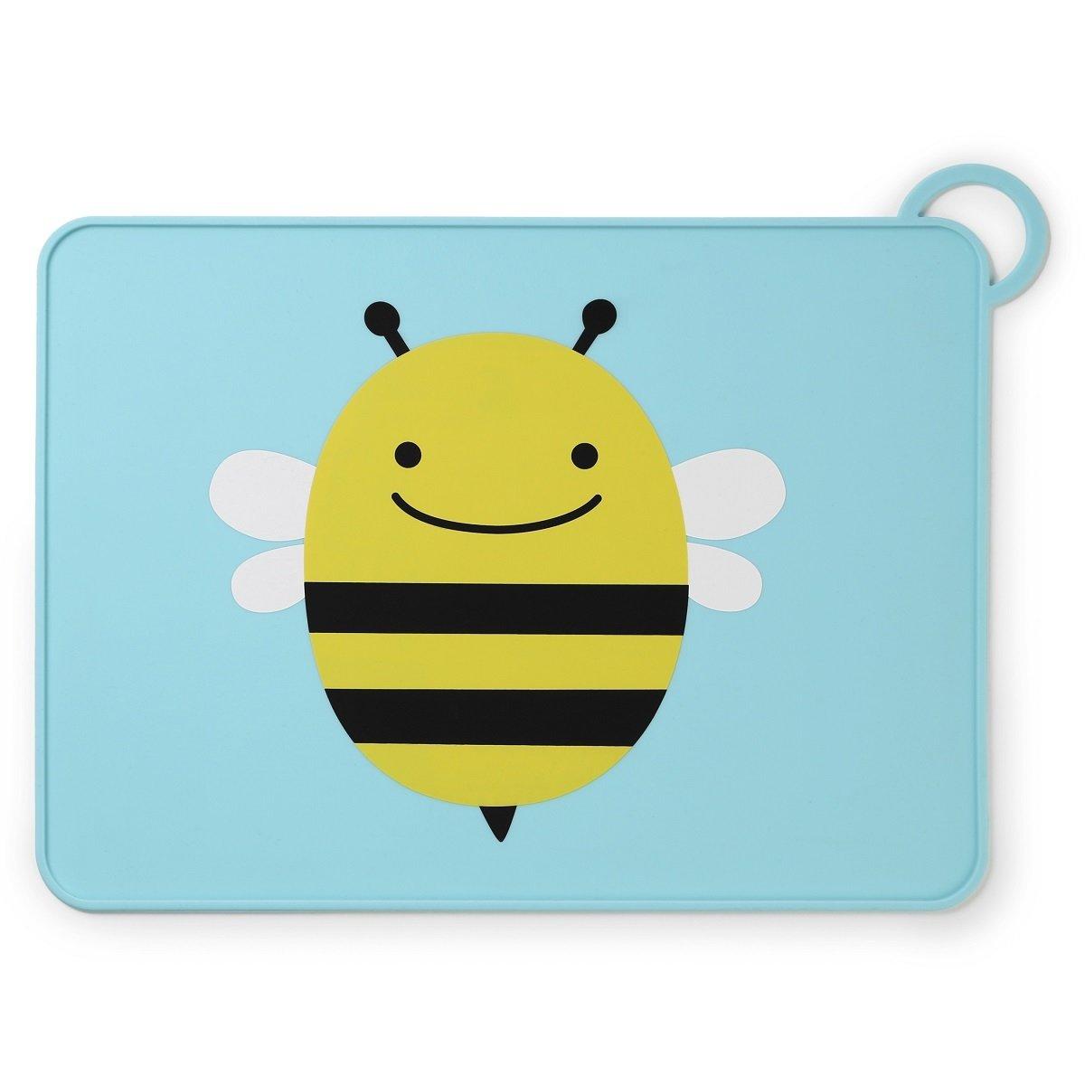 可愛動物園矽膠餐墊 - 蜜蜂