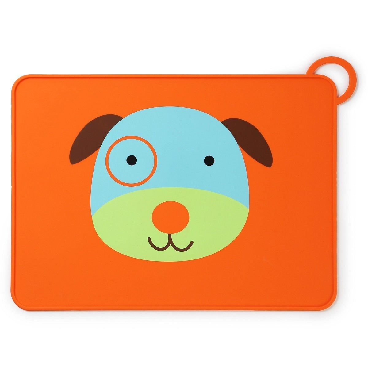 可愛動物園矽膠餐墊 - 小狗