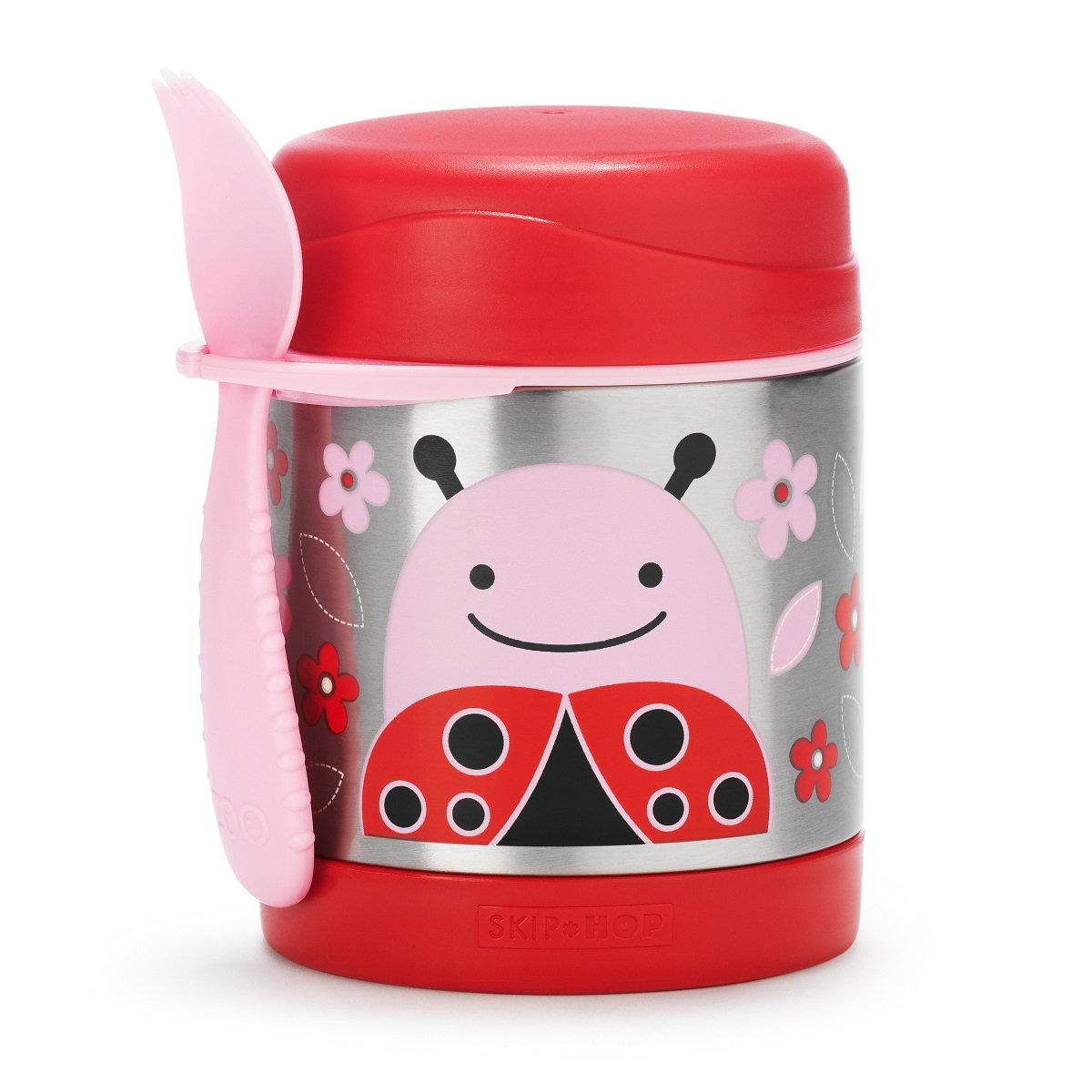 可愛動物園保溫食物壺 -  甲蟲